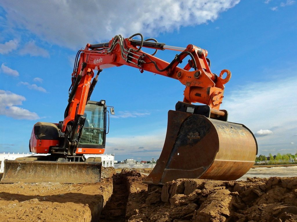 excavators, machine, construction machine