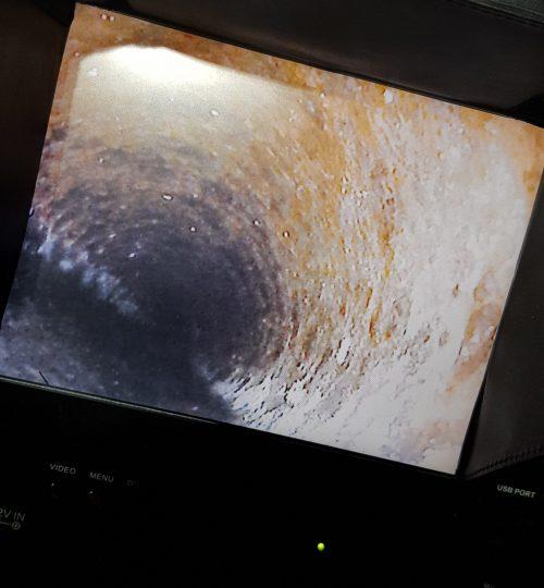 Kamerainspeksjon av VA-ledninger på Vettre, Asker