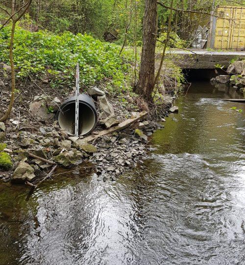 Flomberegning av kulvert i Alnaelva