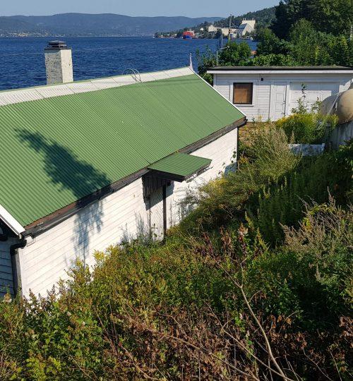 prosjektering av nytt renseanlegg for hytte ved Drammensfjorden