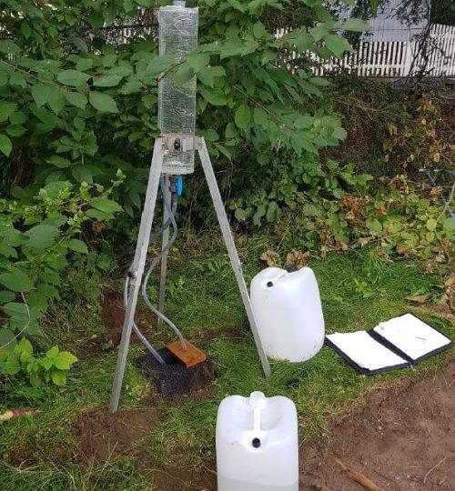Synkeprøver for 3 nye enboliger på Slemdal